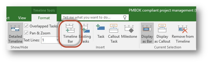 microsoft project 2016 preview  multiple timelines